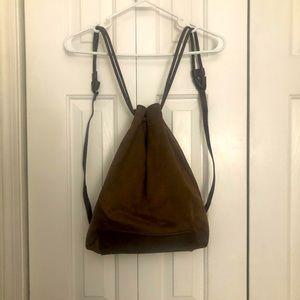 Brown Suede Bag